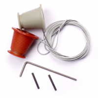 APK10 - King Door Cones and Cables For Canopy Doors