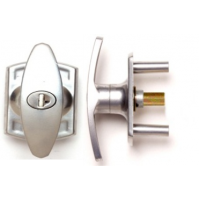APH20 - Locking T - Handle With Silver Finish For Merlin Canopy Doors