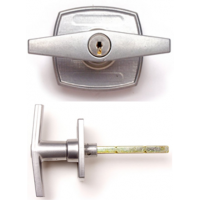 APS30 - Locking T Handle with Silver Finish (Starfleet)