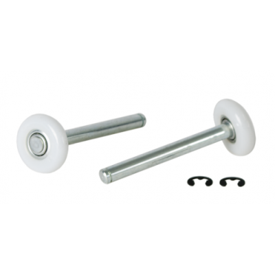 AP92 - Pair of Roller Spindles For  Current Wessex / Wicks Canopy Doors