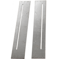 AP81  Slotted Fixing Plate Pair.  Gear universal Replacement Spare